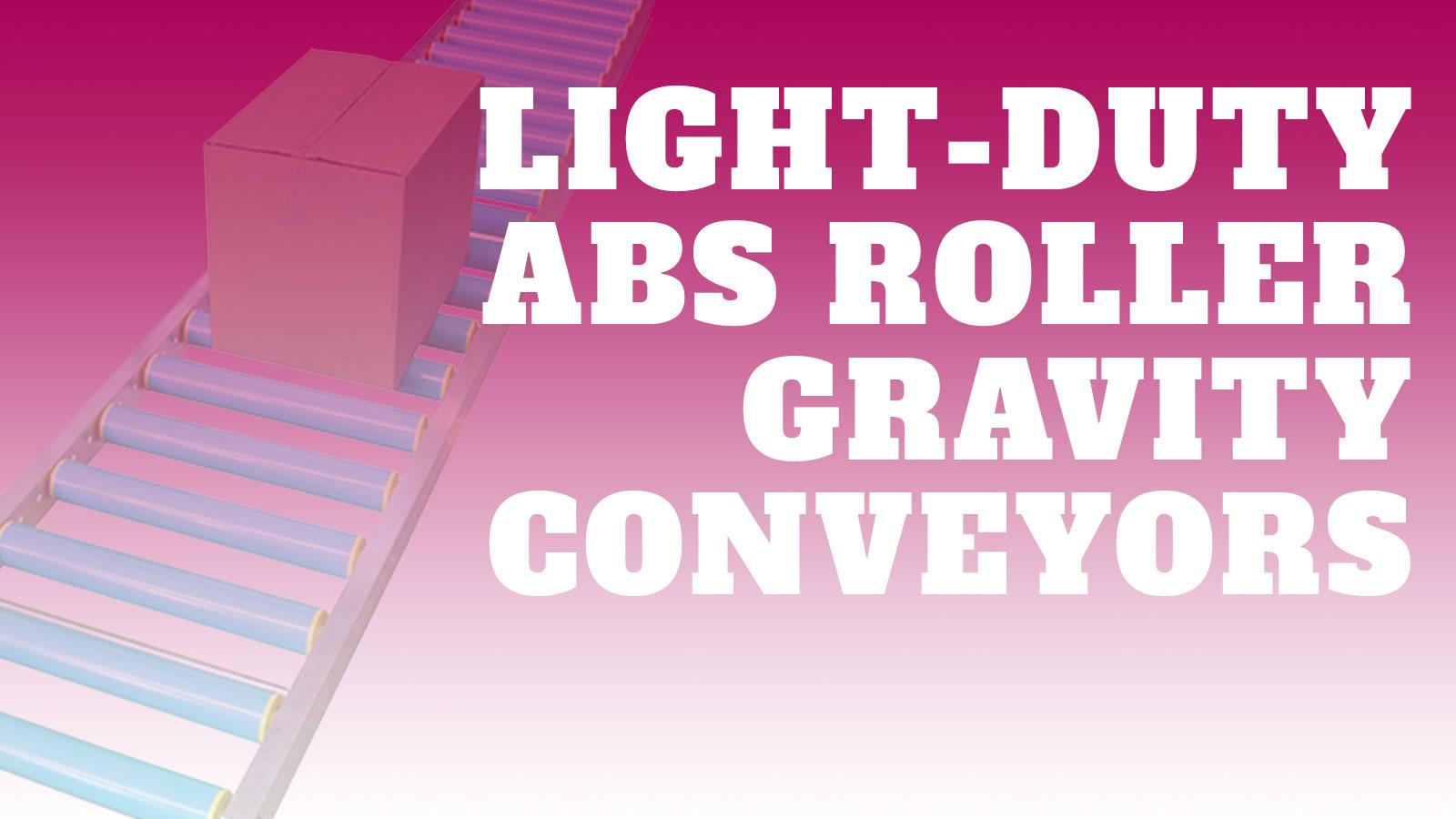 Conveyor-Light-Duty-ABS-Rollers