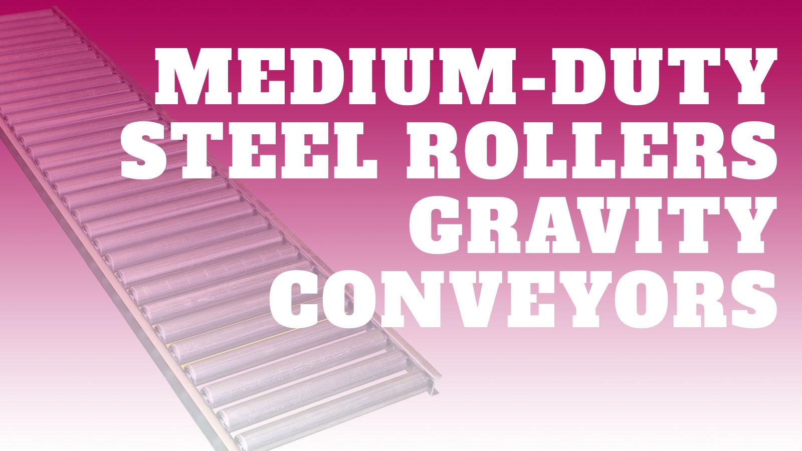 Conveyor-Medium-Duty-Steel-Rollers