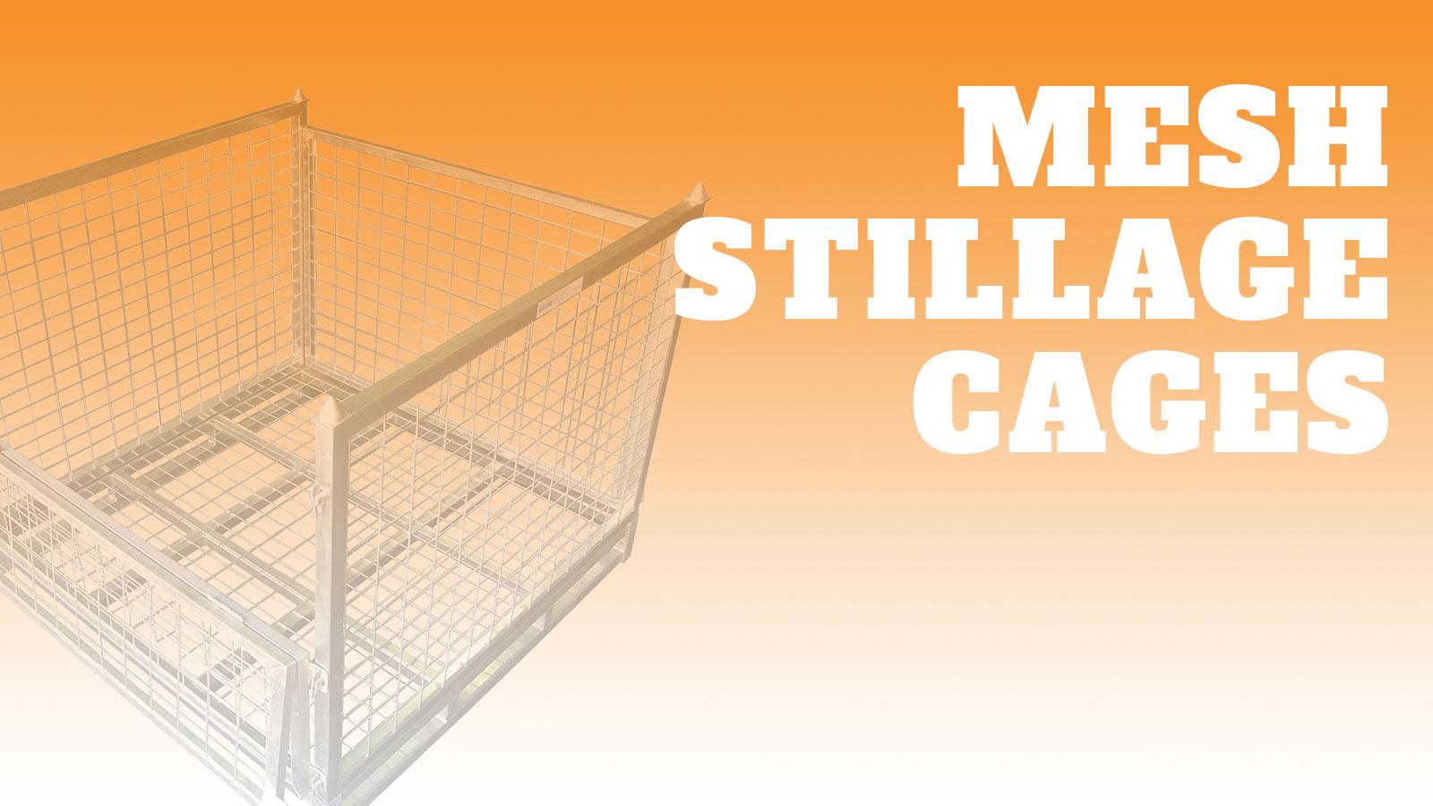 Industrial-Mesh-Stillage-Cages