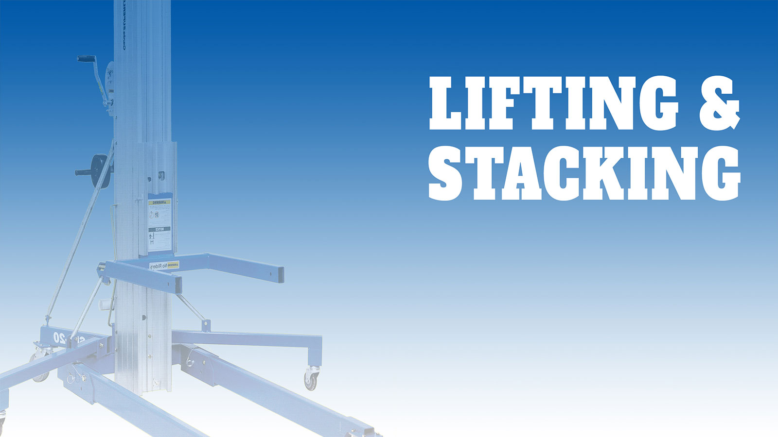 Lifting-Banner