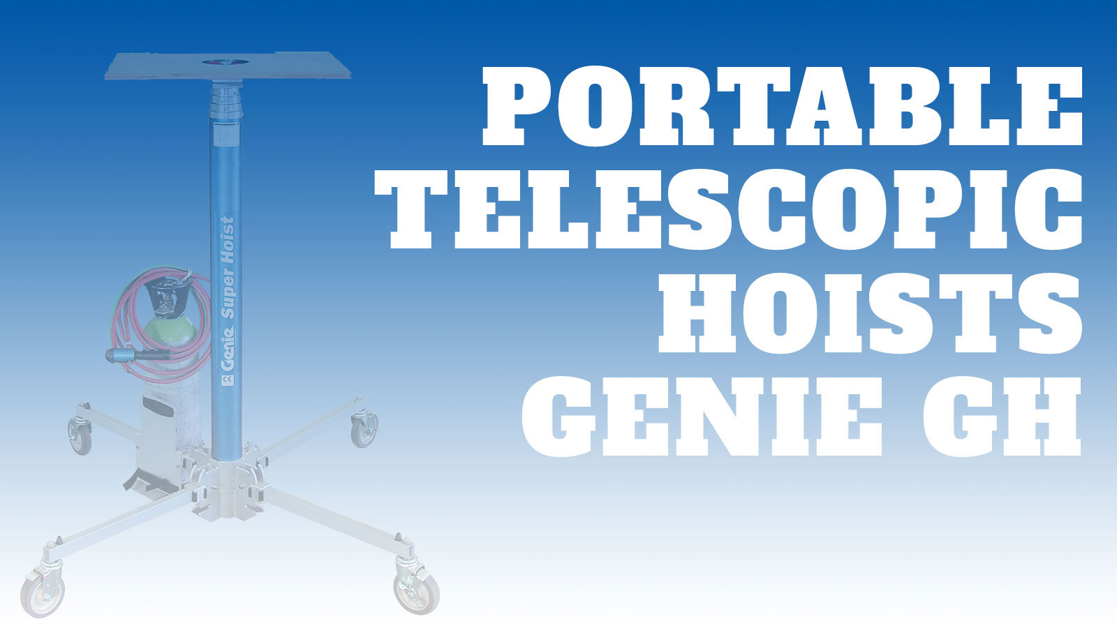 Lifting-Portable-Telescopic Hoists